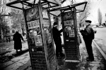 People play cheap slot machine games in the street in Donetsk's working class area, as the economic crisis has started to hit Ukraine. Many residents in industrial towns in the Eastern parts of Ukraine, like Donetsk, are facing to lose their jobs, due to the crisis. Donetsk, Nov 27 2008.