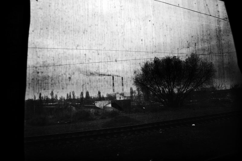 An early morning landscape in the suburbs of Kiev is seen through a window of a train, as the economic crisis has started to hit Ukraine. In October, IMF already set up rescue loan to prevent  the default of Ukraine. Nov 28 2008.