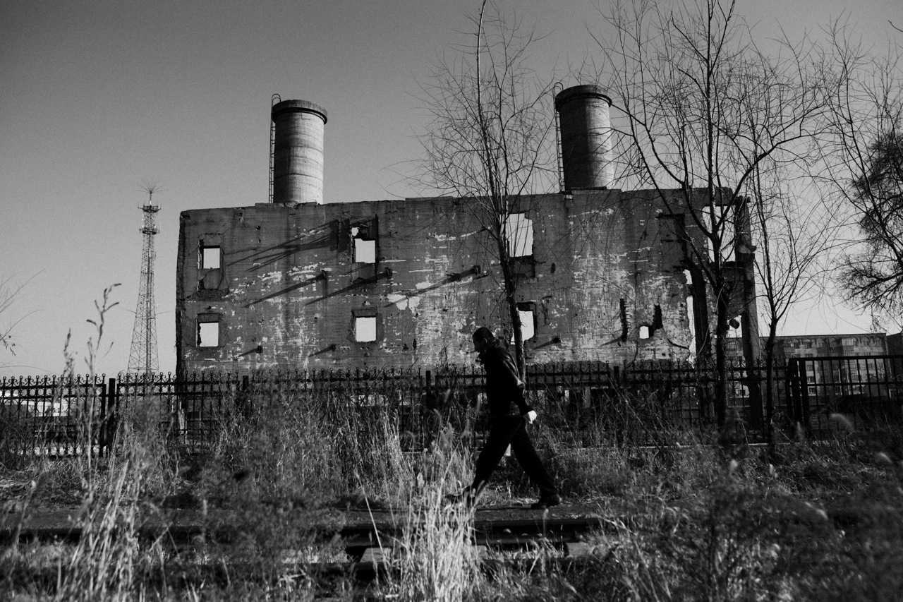 A man walks near the remains of the boiler building at the former complex site of the Unit 731 -- a covert biological and chemical warfare research and development unit of the Imperial Japanese Army that allegedly undertook lethal human experimentation during the Second Sino-Japanese War (1937–1945), or the World War II era. Harbin, China's North East.China's North East was once called Manchuria. The region was at a crossroads that was manipulated in history, including the occupation by Russia and Japan. And now the area is facing upheavals due to the globalization with China's rapid economic growth itself, creating the gap between the rich and the poor and even more unemployment.