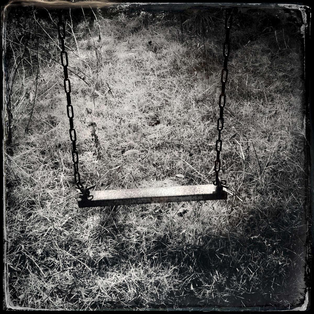 A swing at an abandoned elementary school. Mar/ 2013, Odaka, Minami-Soma.