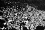 An overview of Rocinha, the biggest favela in South America, where drug mafia, gangs, poverty and huge unemployment situation are extremely rampant. May 2007.