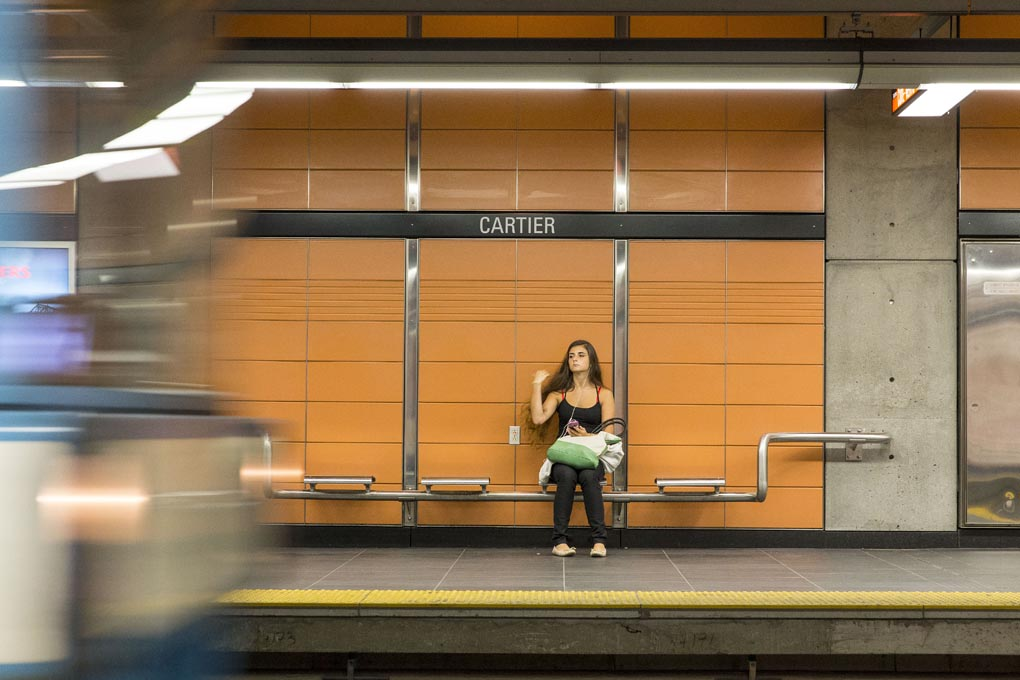 Cartier Metro Station