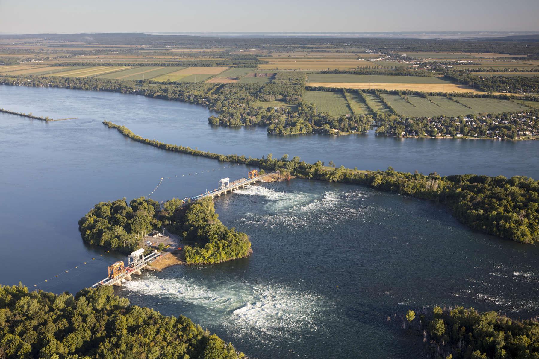 Hydro Quebec Juliet Dams