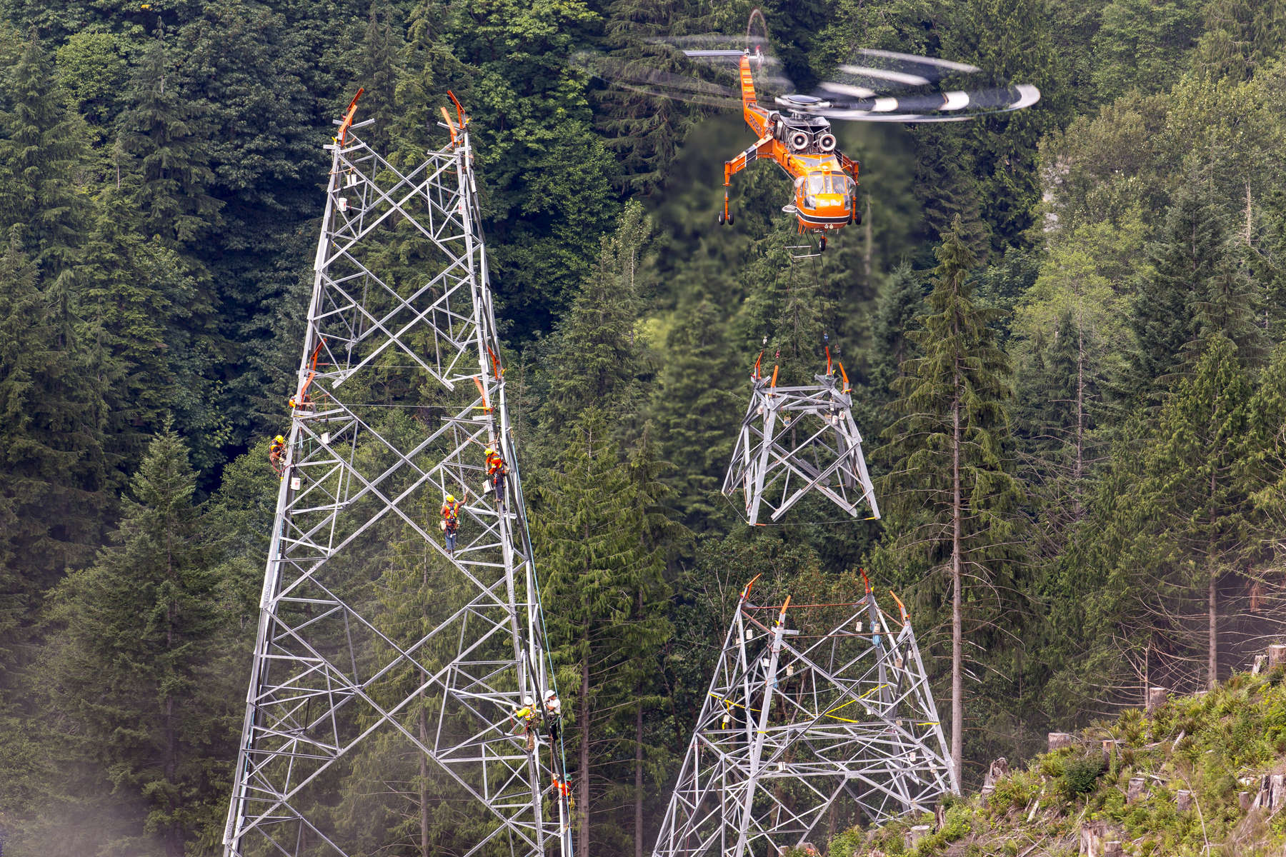 Interior Lower Mainland 500kV Transmission Lines