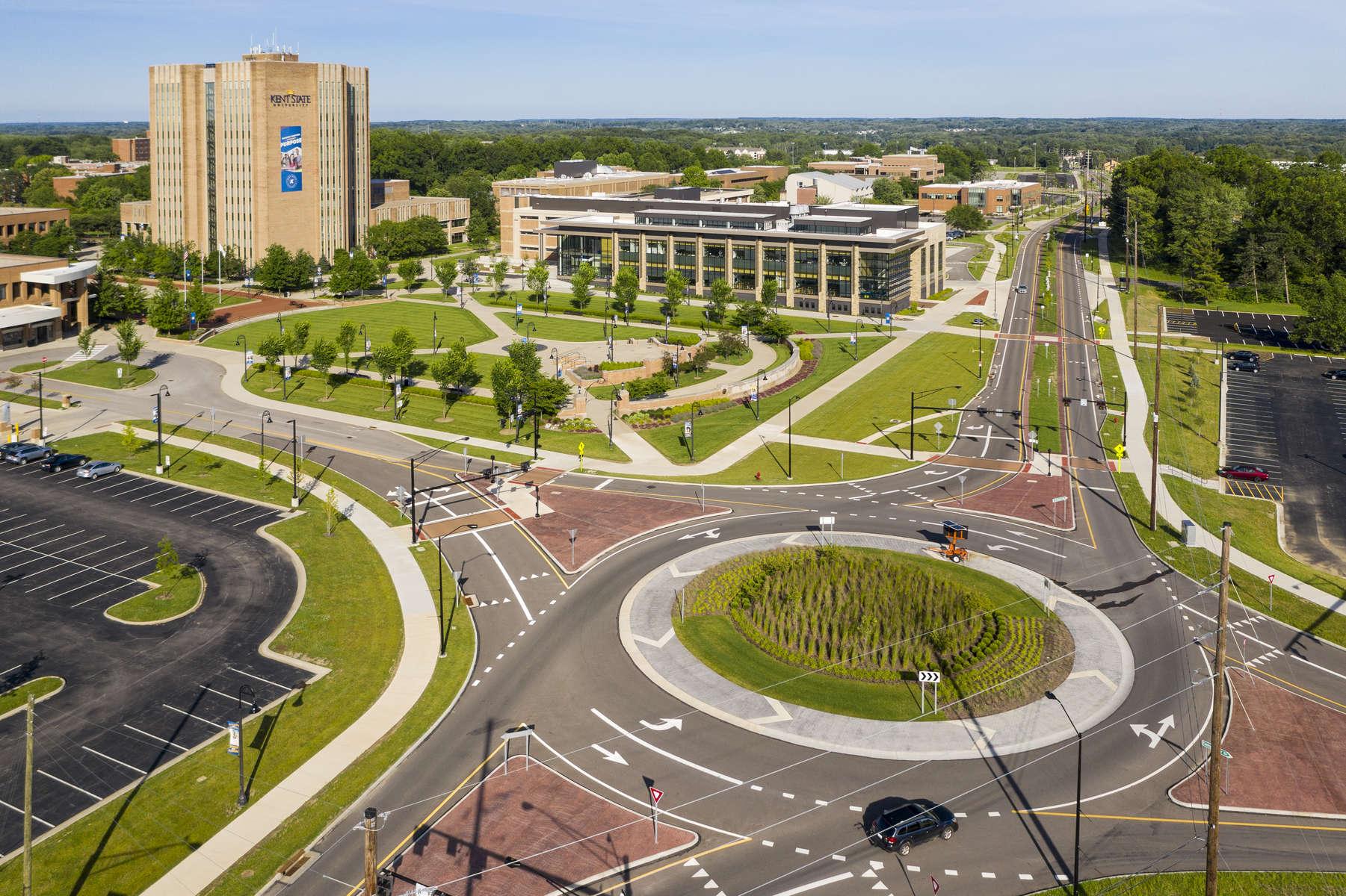Kent State Roundabout