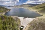 Stagecoach Reservoir Dam