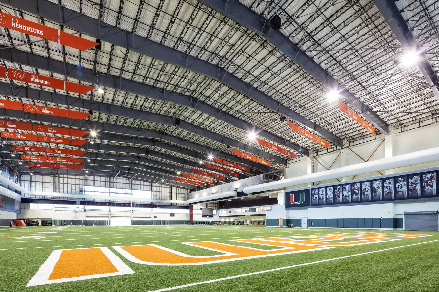 University of Miami Football Facility