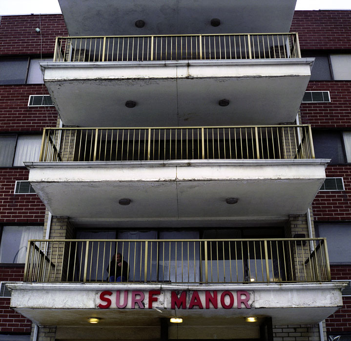 Surf Manor Adult HomeConey Island, Brooklyn, New Yorkphoto by Erica McDoanld