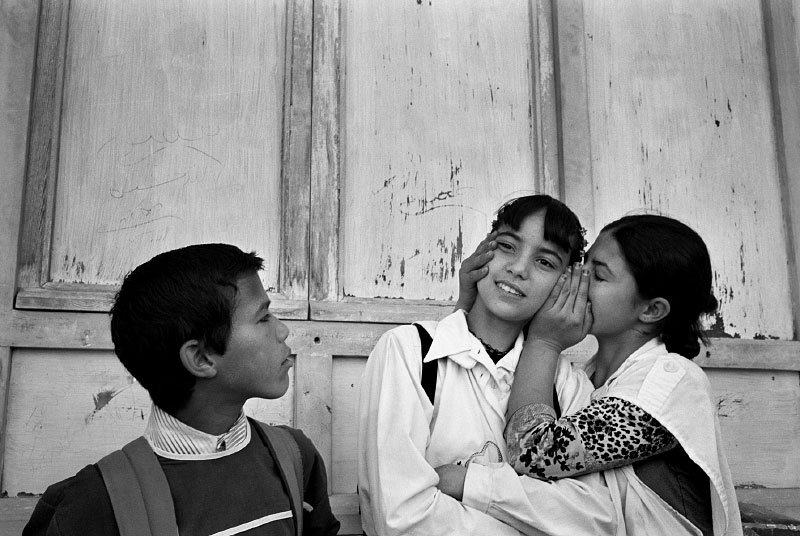 Secret at school, El Hanchane, Morocco