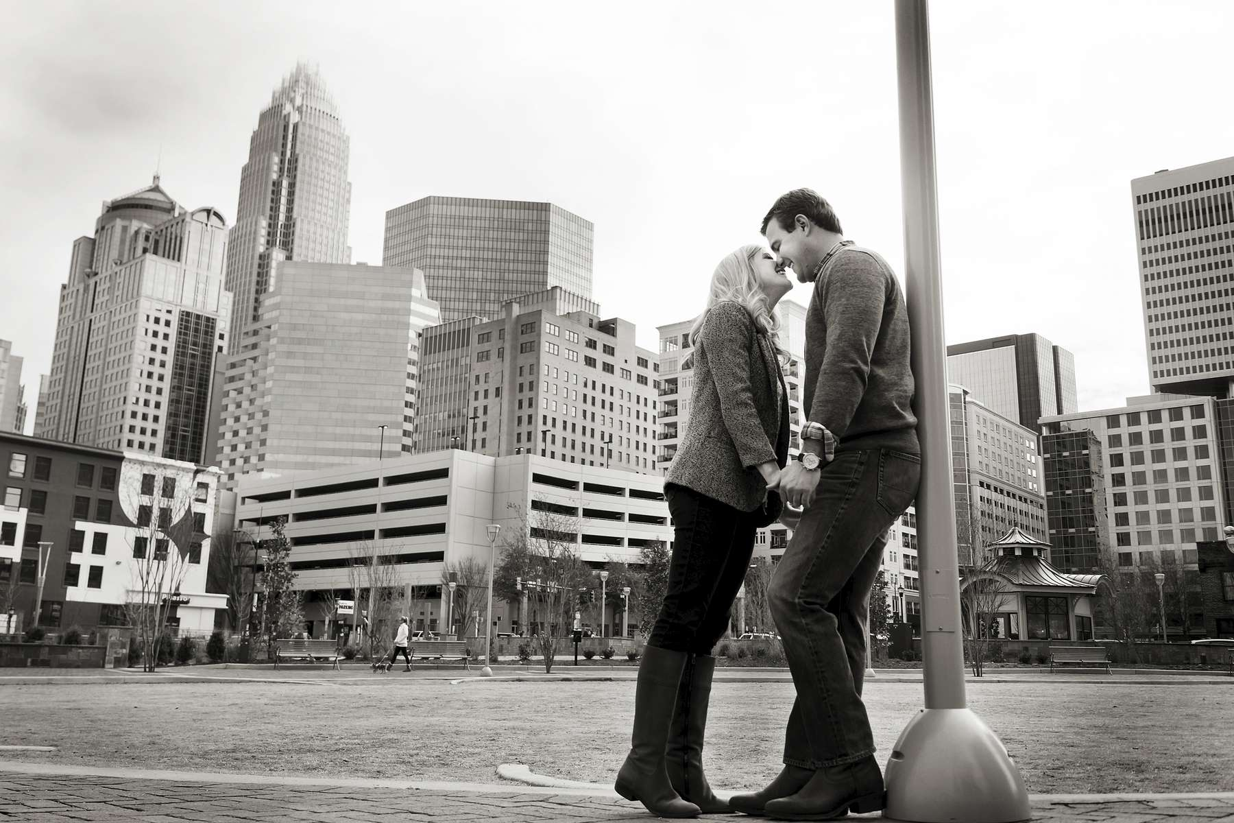 Charlotte Engagement Photography by Christopher Record Photography