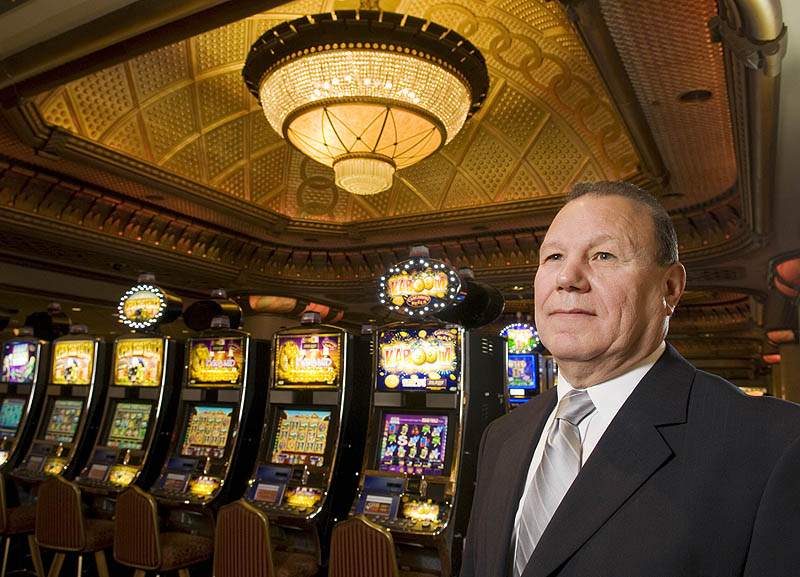 William FougnierChairman of the Oneidan Indian Nation's Gaming Commission, Verona, NY.