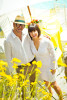 Trina Turk &amp; hubby at their Palm Springs home