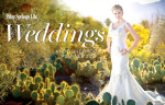 Cover of the 2012 Palm springs Life Wedding Annual Edition