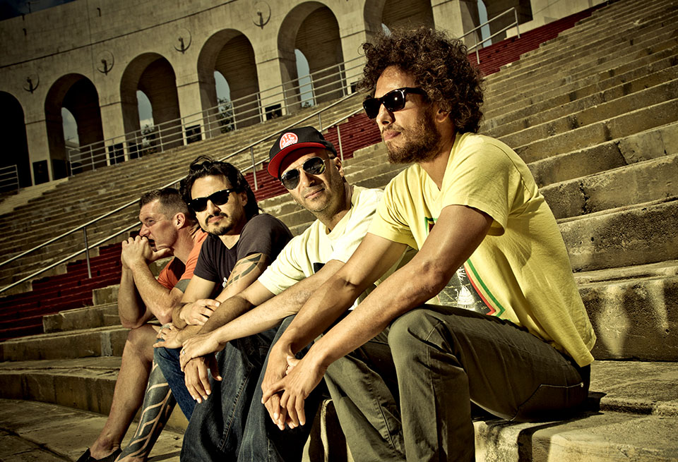 Rage Against The Machine to commemorate their return to Los Angeles in LA Rising