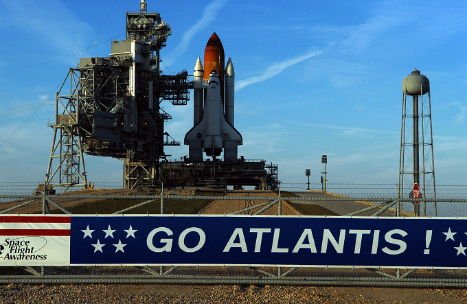 ATLANTIS, STS-122, Scrubbed