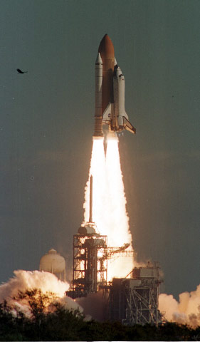 COLUMBIA'S LAST LAUNCH, 01-16-03