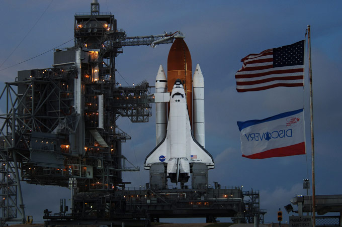 DISCOVERY, STS-120