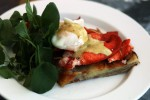 Pommes Anna with Lobster and Eggs Bearnase