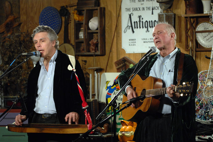 FOLKBROTHERS, David Massengill and Jack Hardy