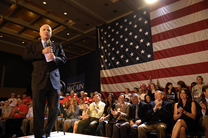 John McCain, West Palm Beach, FL