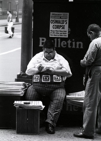 NEWS VENDOR, PHILIADELPHIA, PA
