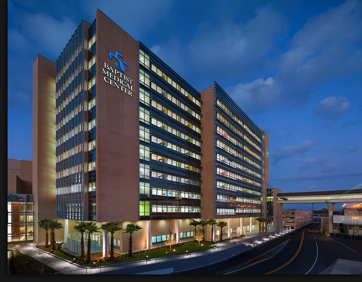 The Weaver Tower at Baptist MedicalJacksonville, FloridaStanley Beaman & Sears