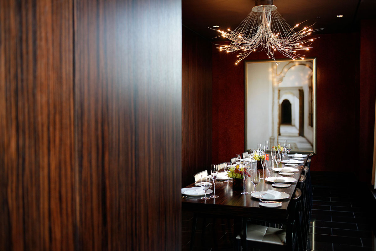 Ria's dining room for Chicago Chef's Table