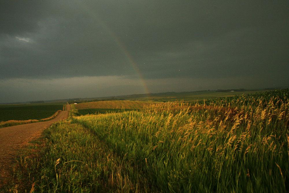 Rainbow  --  Northeast Nebraska