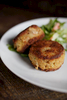 Crab cakes at The Southern.