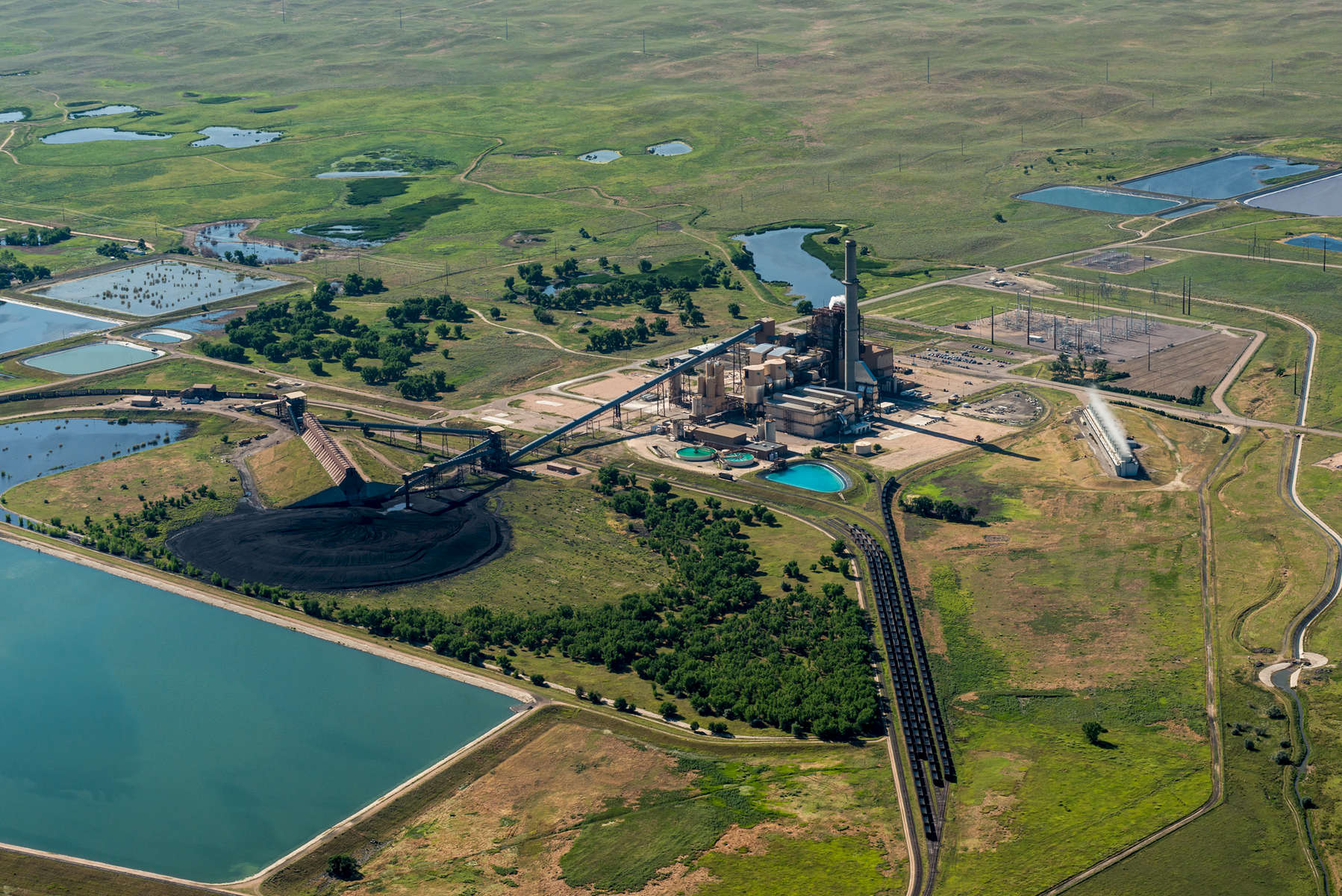 Pawnee Station is a coal-fired electridity generating power plant operated by Xcel Energy near Brush, CO.