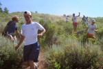 Campers must make their own path during the Cross Canyon race