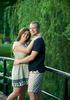 Lafayette Park Bridge (Lafayette Square) — St. Louis engagement session for Alissa & Ben. Wedding photography by Tiffany & Steve Warmowski.