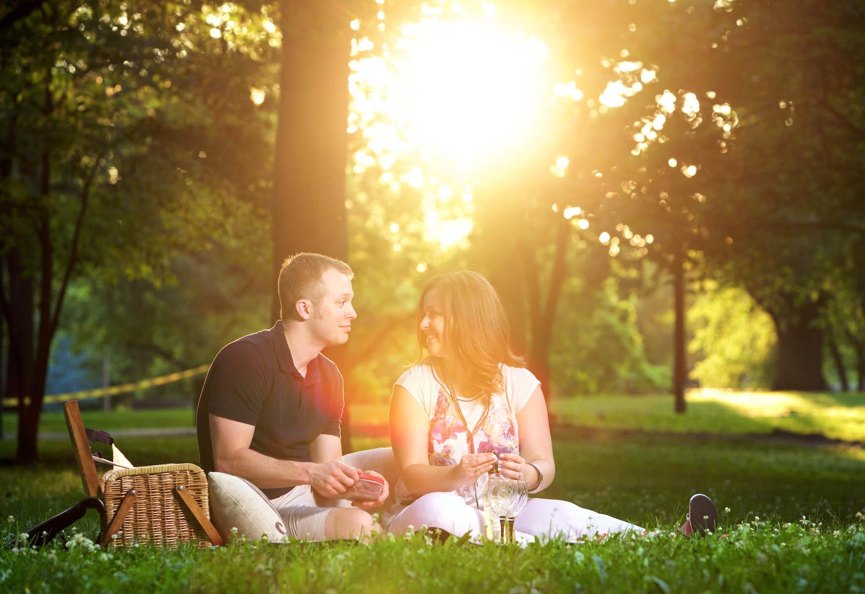 Lafayette Park (Lafayette Square) — St. Louis engagement session for Alissa & Ben. Wedding photography by Tiffany & Steve Warmowski.