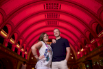 Union Station — St. Louis engagement session for Alissa & Ben. Wedding photography by Tiffany & Steve Warmowski.
