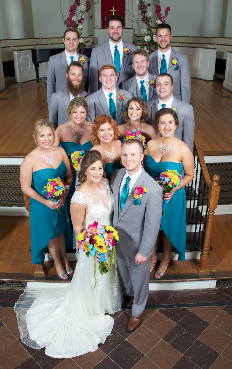 Formal portraits, Alissa & Ben's wedding at Annie Merner. Wedding pictures by Tiffany & Steve of Warmowski Photography.