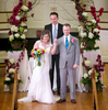Presentation of the bride and groom. Wedding pictures by Tiffany & Steve of Warmowski Photography.