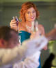 Toast by Maid of Honor Laura. Wedding pictures by Tiffany & Steve of Warmowski Photography.