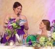 Toasts, Amanda & Nick's wedding reception at the Jacksonville Illinois Country Club. Wedding photography by Steve & Tiffany Warmowski.