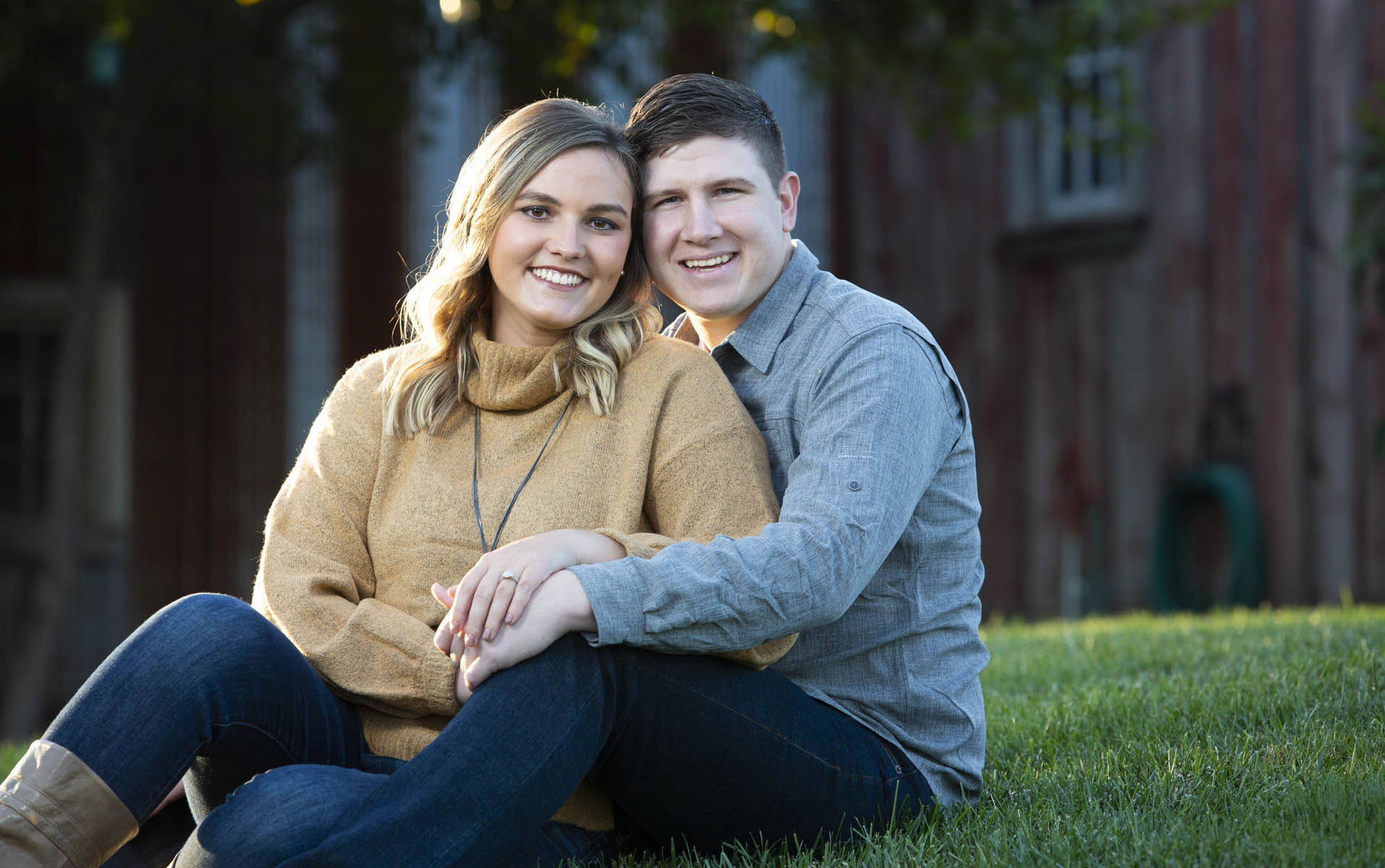 Cyndey Musch & Dakota Longleyengagement session 4 October 2019 at Bomke's Patch near SpringfieldWedding to be 6 June 2020Photos by Steve & Tiffany of Warmowski Photography http://www.warmowskiphoto.com 217.473.5581 - 191004