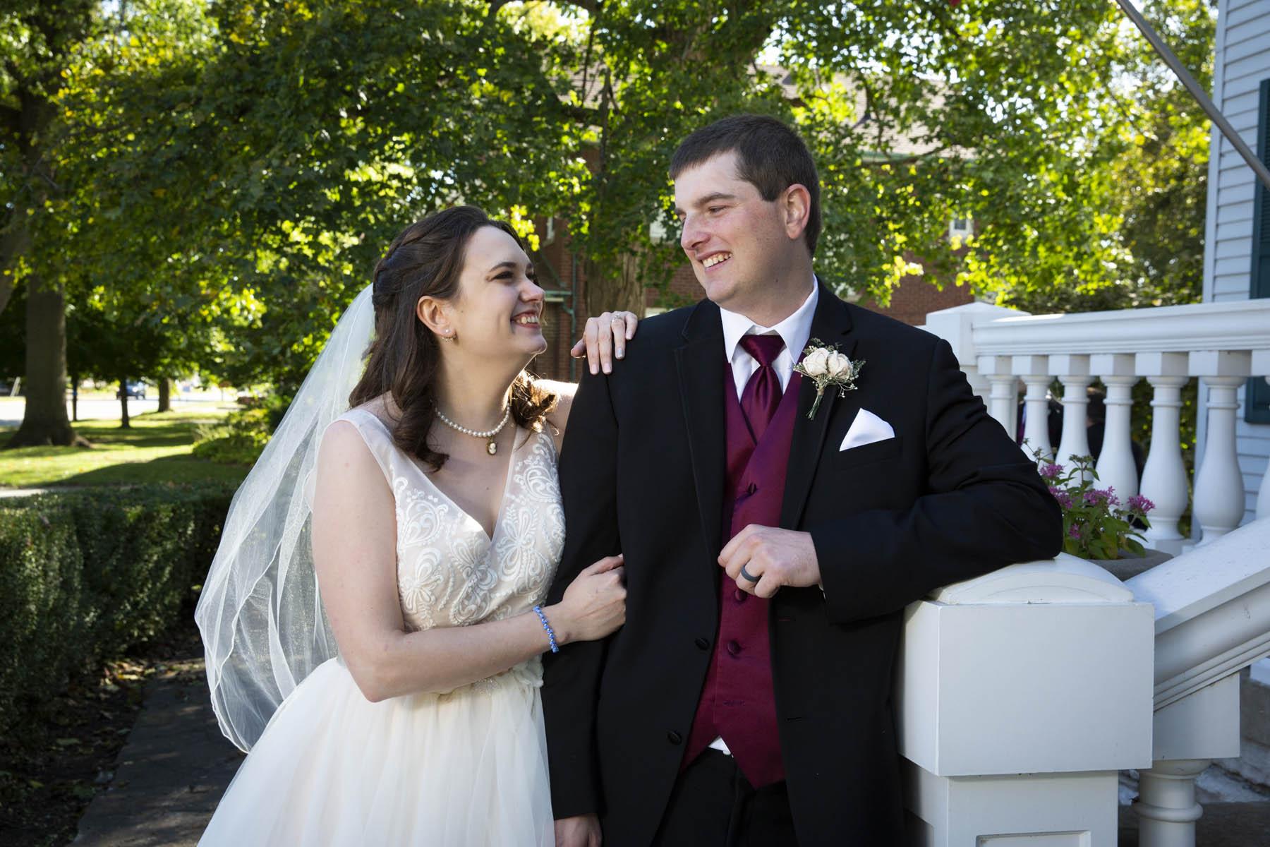 Wedding of Jenny Angelo & Alex Meyer Saturday 12 October 2019 at Greene Gables in White HallPhotos by Steve & Tiffany of Warmowski Photography http://www.warmowskiphoto.com 217.473.5581 - 191012
