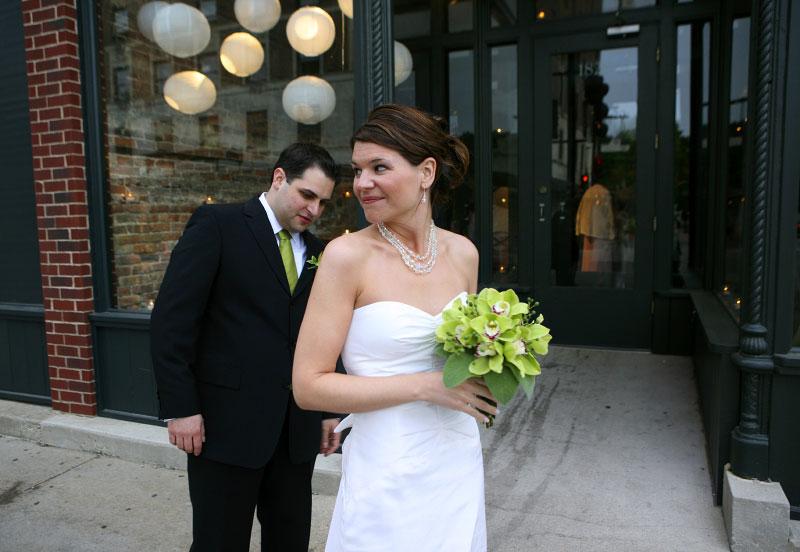 Tracy tom chicago sample weddings for Sample wedding dresses chicago