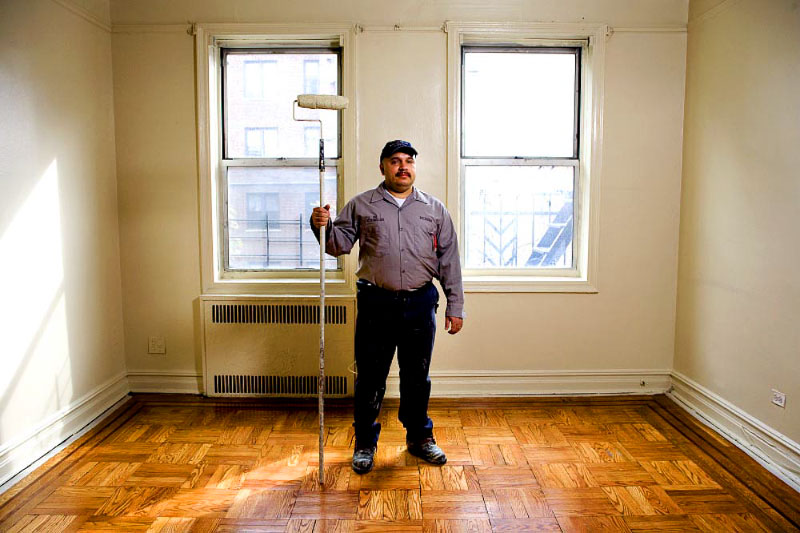 Richie, Handyman, working at 751 Saint Marks for 1 year.