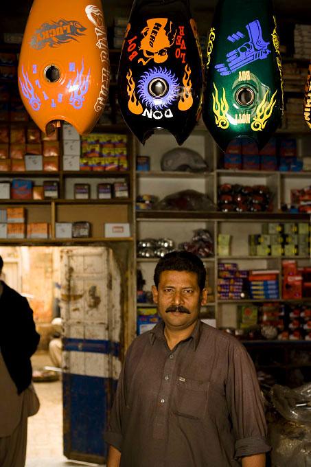 Ali, Motorcycle shop owner, Rawalpindi