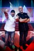 Chef Duff Goldman and Iron Chef Michael Symon