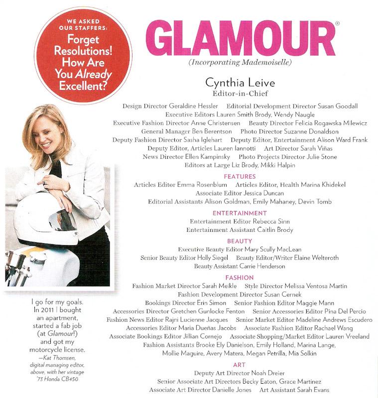 Kat Thomsen Digital Managing Editor of Glamour Magazine