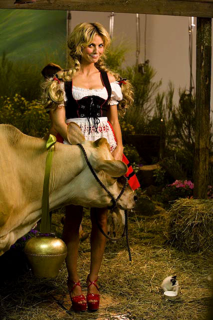 Heidi Klum  for {quote}Got Milk?{quote}