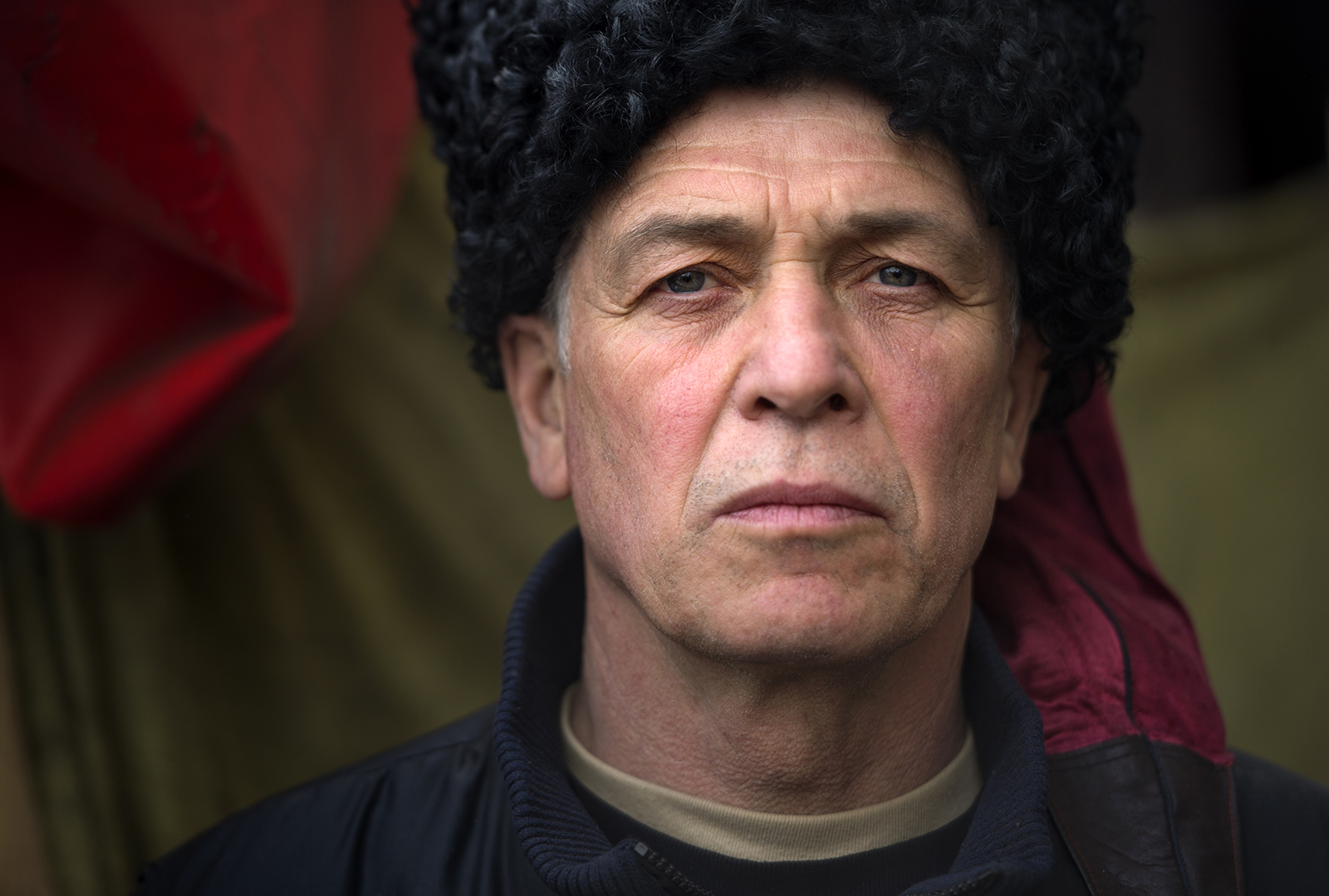 Viktor Vaschenko, 60, in Kiev, Ukraine © 2014 Nikki Kahn/The Washington PostALL RIGHTS RESERVED