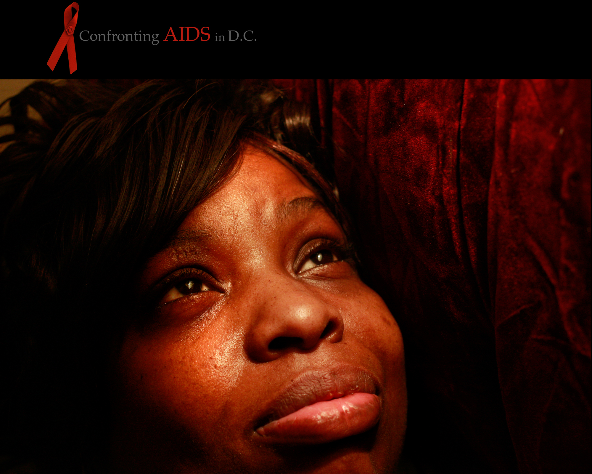 where more than 90 percent of women with the disease are blackAccording to the D.C. Department of Health, women accounted for a third of all newly reported HIV/AIDS cases between 2001 and 2006, with African­American women being disproportionately affected. Most of those women were of child-bearing age, putting their children at risk. The number of women in the District living with AIDS increased by more than 75 percent in that six-year period. The most common form of transmission for women was heterosexual contact. In the 14 years since she learned she was HIV-positive, Juanita Brown Sims has turned to her faith for support. Sims, 42, shares her poem, {quote}Don't Look at My HIV, You Won't See Me{quote} in the hope of giving support to others who have the virus. What are you looking at Are you looking at my HIV If you is you can't see me. I'm strong, I'm gifted, I'm lovable but most of all I'm free Don't look at my HIV you won't see me. I'm  funny, I''m smart, I'm a mother of three, I am wise and I dress to a tee. So don't look at my HIV you won't see me. I''m a child of God I don't have to steal, borrow, beg or rob. How funny you say you love me When you always worrying about my HIV. HIV lives with me but it's not all of me, you see. I am blessed by the God that lives within me He helps me to do my best So you could put your mind at rest, And look at me Not my HIV. Yes I messed up my life But I ain't going down without a fight, I can now sing and dance Because I'm giving my life a second chance. I'm somebody who's willing, ready, able and understanding And I don't mind living out my HIV on this planet So if you keep looking at my HIV You going to be so sorry you missed the God in me. ALL RIGHTS RESERVED ©2008 Nikki Kahn