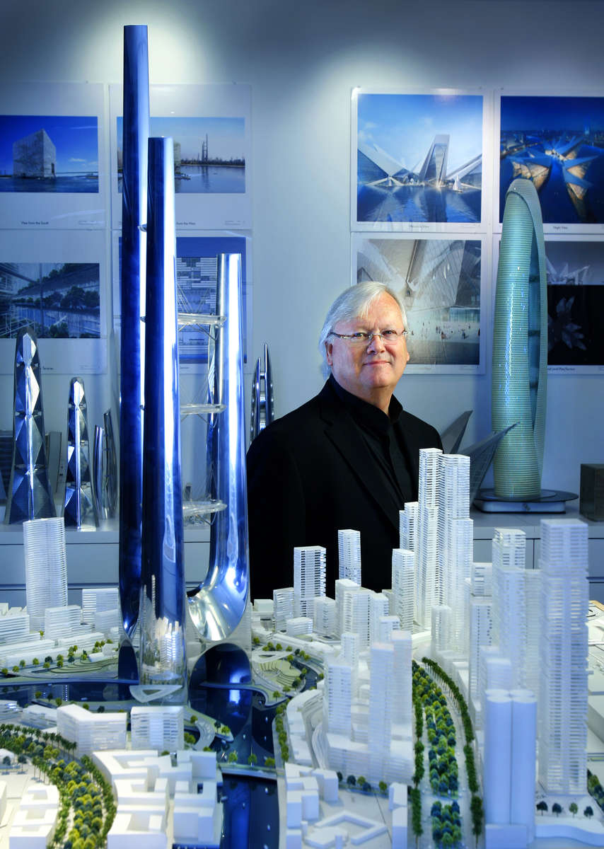 portrait of Architect Adrian Smith