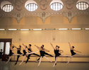 Catherine Conley rehearses with other students at the Cuban National School of Ballet in Havana, March 13, 2017.  ©2018 Alex Garcia